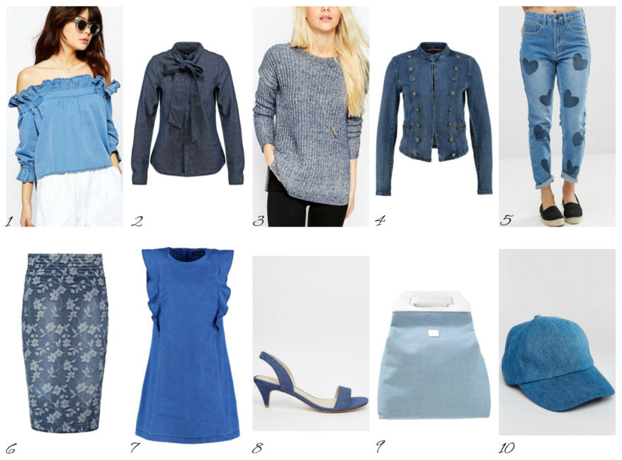 Top settembre 2016 in total denim - Top september 2016 total denim.