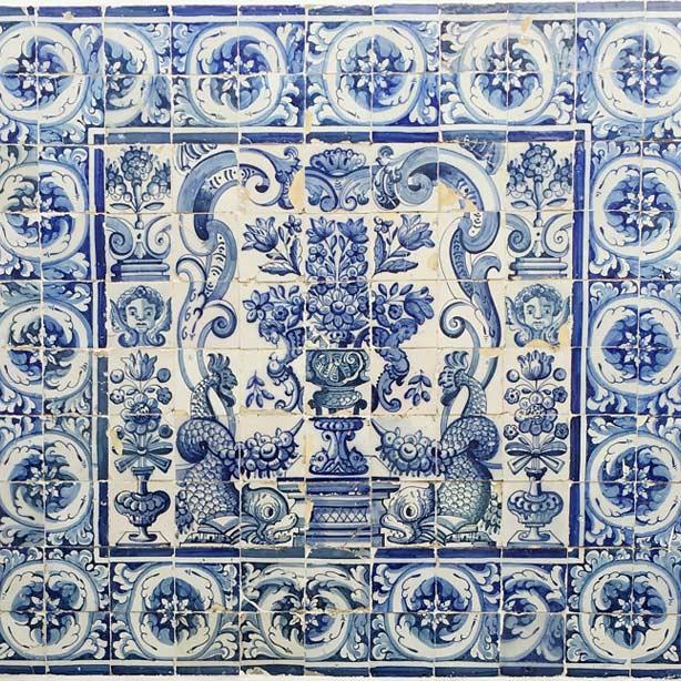 Azulejos portoghesi.