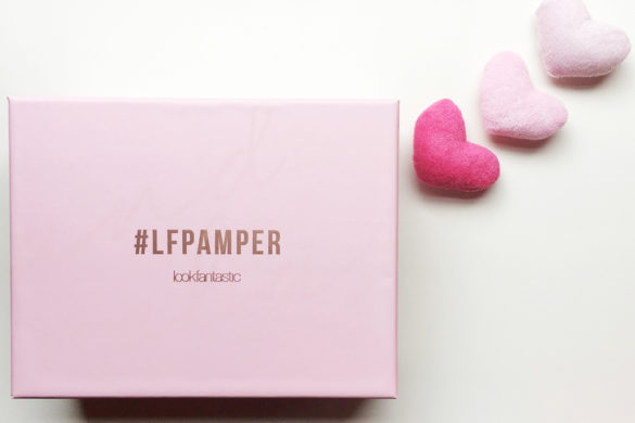 Beauty Box by Lookfantastic #LFPAMPER.