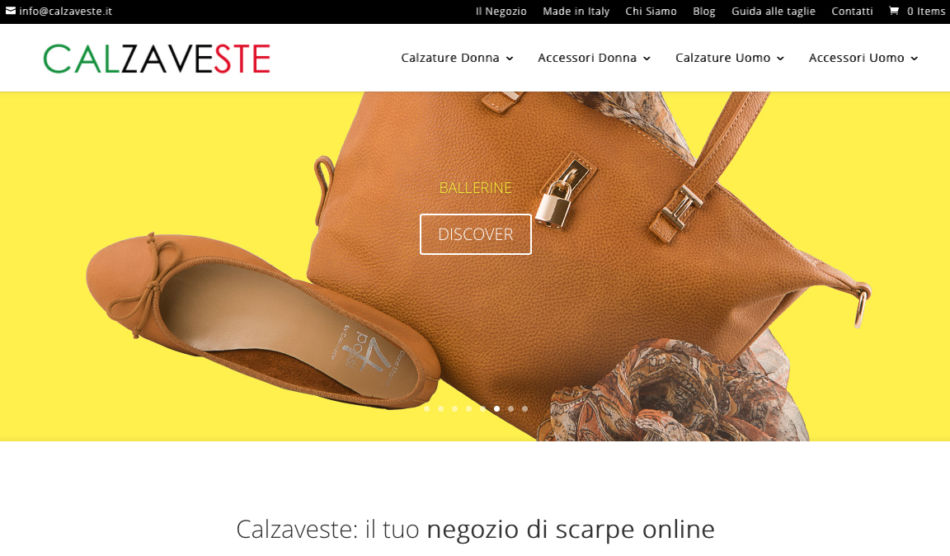 Calzaveste shop online scarpe Made in iTALY.