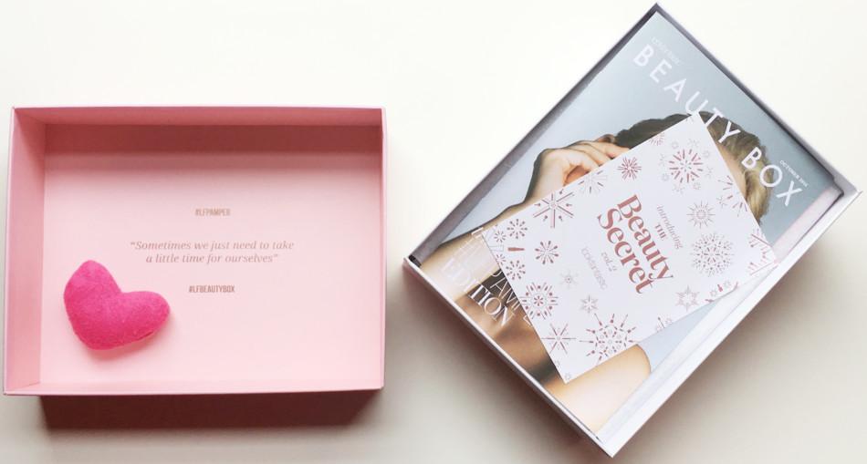 #LFPAMPER beauty box by Lookfantastic.