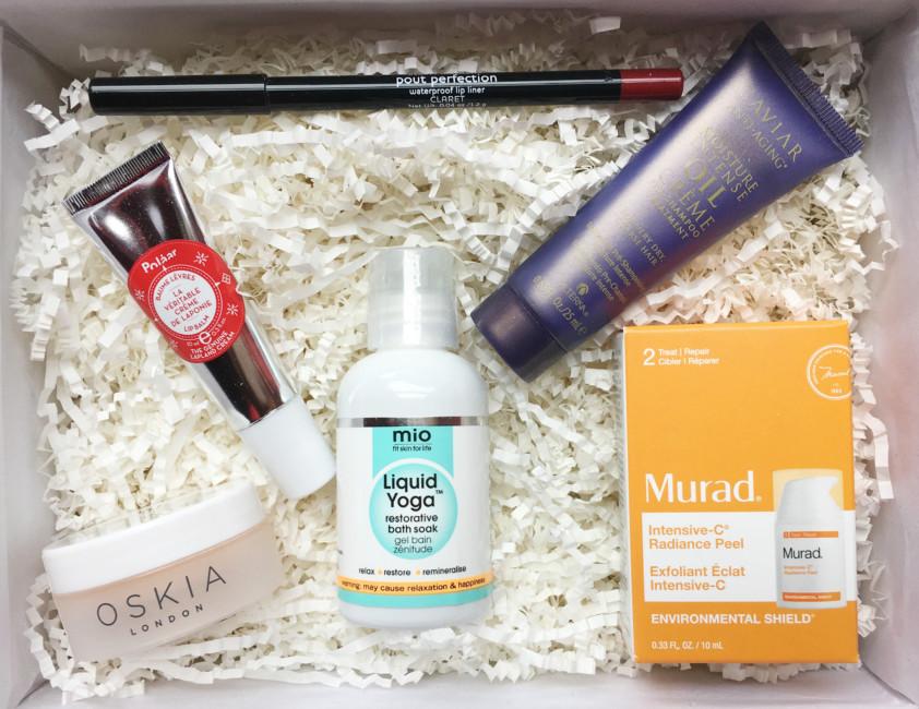 Prodotti beauty box #LFPAMPER by Lookfantastic.