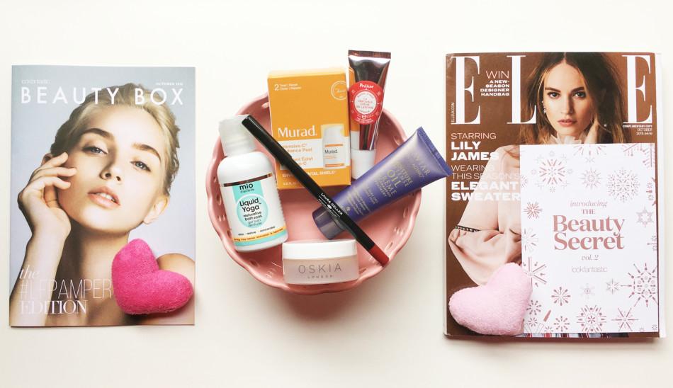 Beauty Box #LFPAMPER by Lookfantastic.