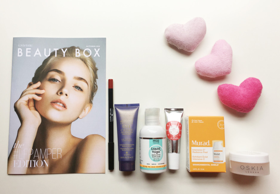 Products Beauty Box #LFPAMPER by Lookfantastic.