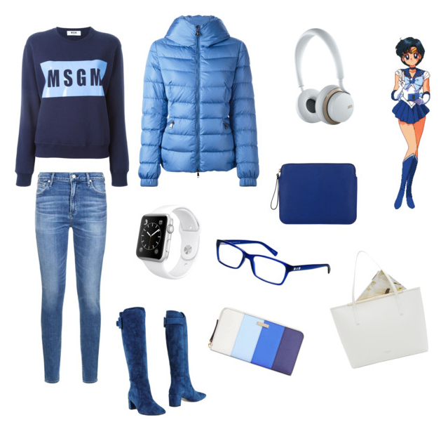 Sailor Mercury outfit idea.