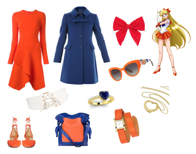 Sailor Venus outfit inspiration.