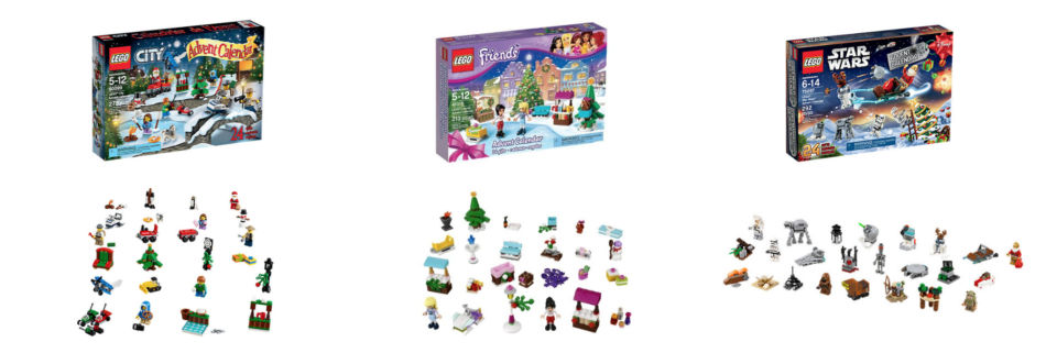 Calendario dell'avvento per bambini Lego - Children Advent Calendar Lego.