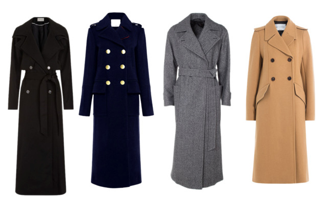 Capispalla indispensabili, il cappotto lungo - Indispensable outerwear, long coat.