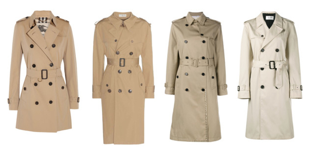 Capispalla indispensabili, il trench - Indispensable outerwear, trench coat.