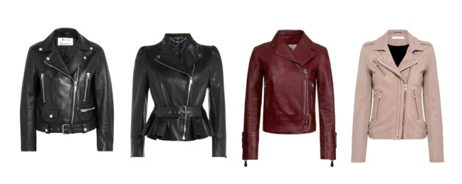 Capispalla indispensabili, giacca di pelle - Indispensable outerwear, biker.