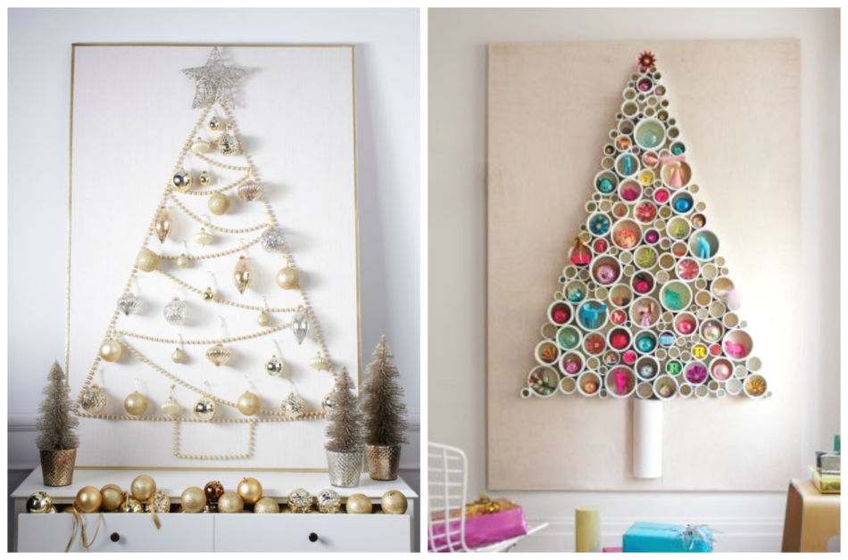 Idea originale per un albero di natale fai da te - Original idea DIY Christmas tree.