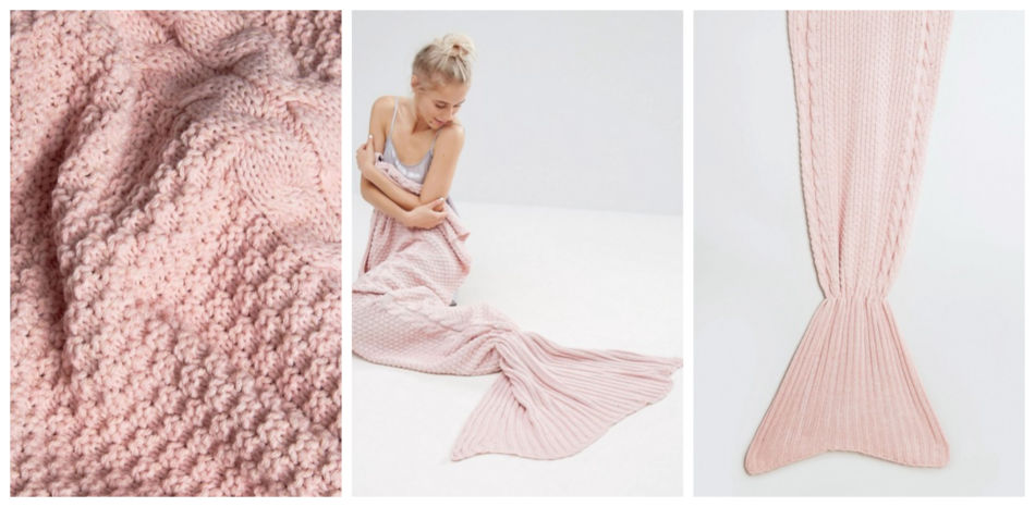 Idea regalo di natale, coperta a coda di sirena - Idea Christmas gift, blanket mermaid tail.