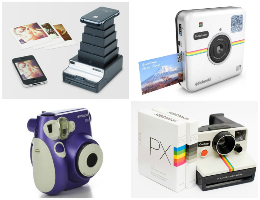 Idea regali di natale, macchina fotografica per polaroid - Christmas Gifts Idea, camera for Polaroid.