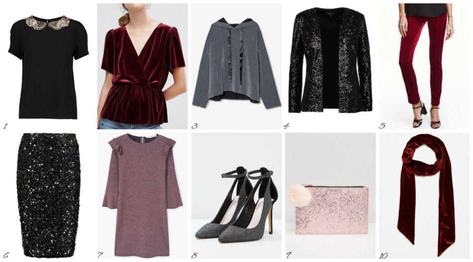 Top moda donna low cost Capodanno dicembre 2016 - Top fashion low cost New Year December 2016.