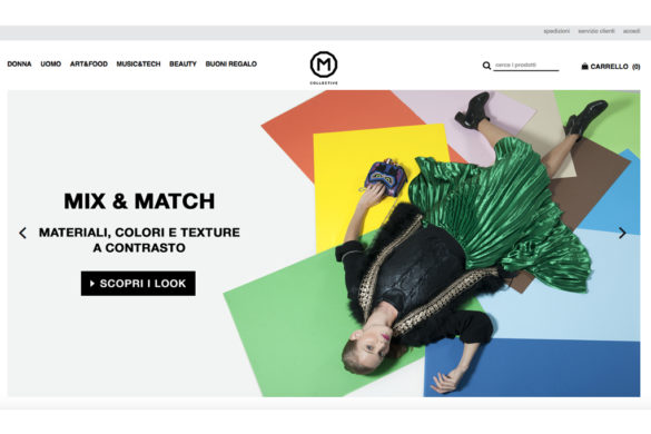 M Collective concept store nuovo shop online - M Collective new concept store online shop.