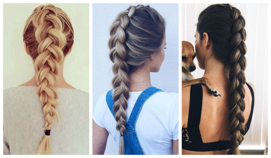Trecce alla olandese - Dutch Braids.