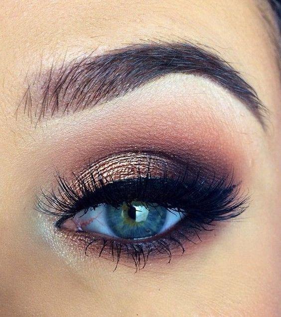 spesso Come truccare gli occhi azzurri - Fashion Blog YF21