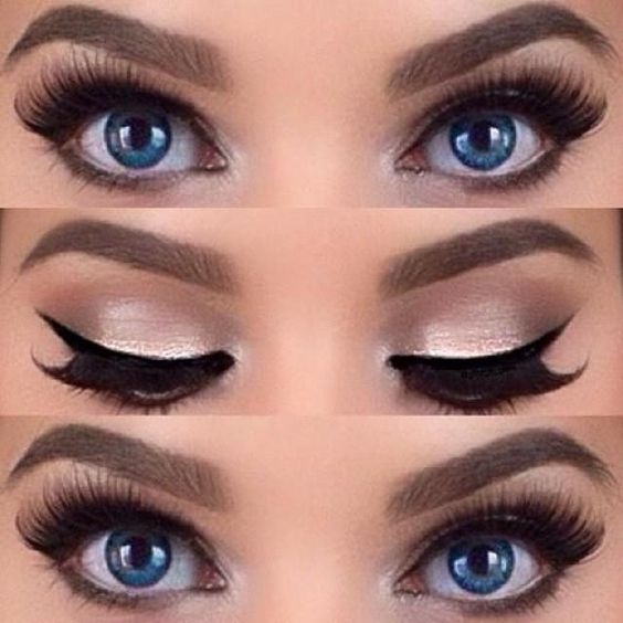 Top Come truccare gli occhi azzurri - Fashion Blog HB98