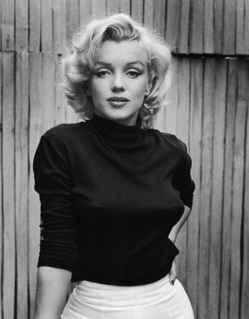 Marilyn Monroe icona di stile e di eleganza - Marilyn Monroe elegance style icon.