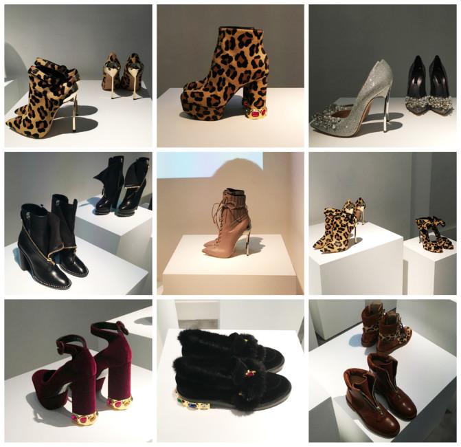 Casadei collection autunno inverno 2017-18.