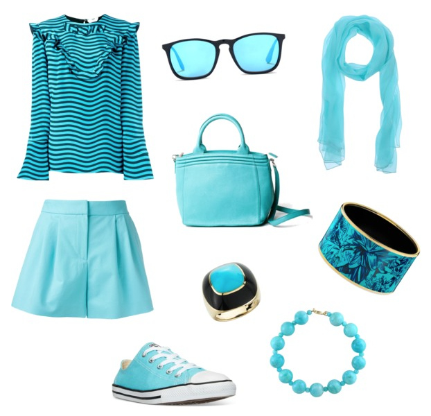 Island Paradise color outfit.