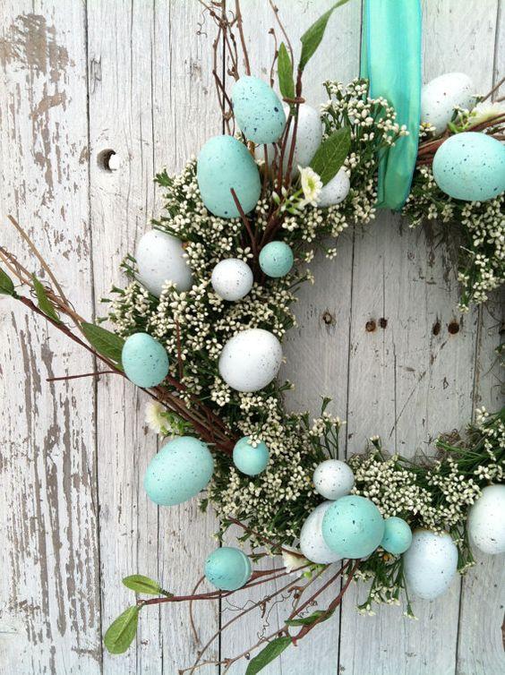 Ghirlanda di Pasqua - Easter Wreath.