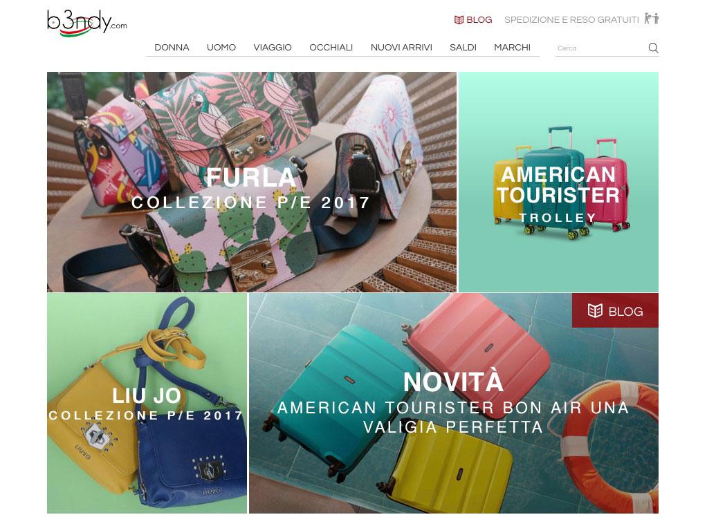 B3ndy borse di moda e valigeria shop online - B3ndy fashion handbags and suitcases online shop.