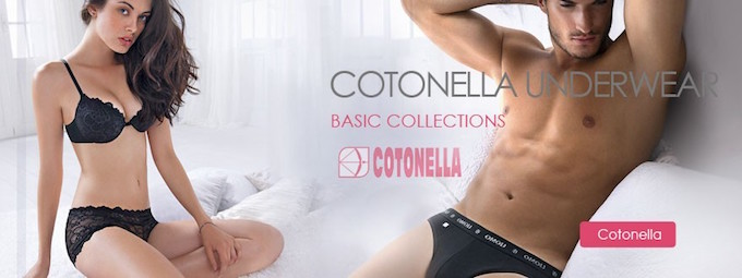 Cotonella underwear.