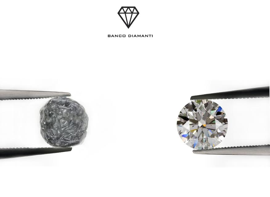 Banco Diamanti specialisti nella valutazione del diamante - Banco Diamanti specialists in diamond evaluation.