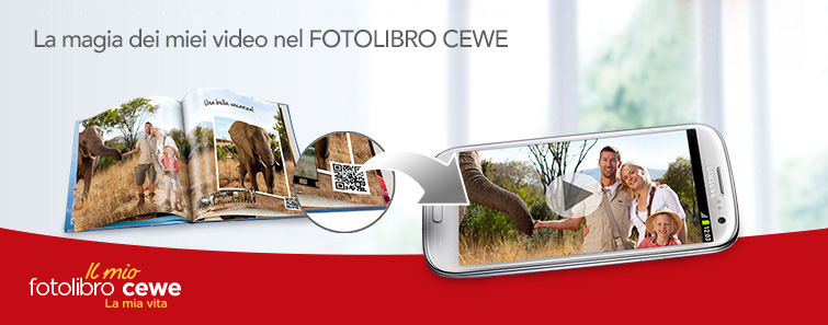 CEWE fotolibro personalizzato di qualità - CEWE custom quality photo book.