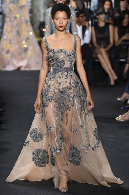 Elie Saab dandelion dress.