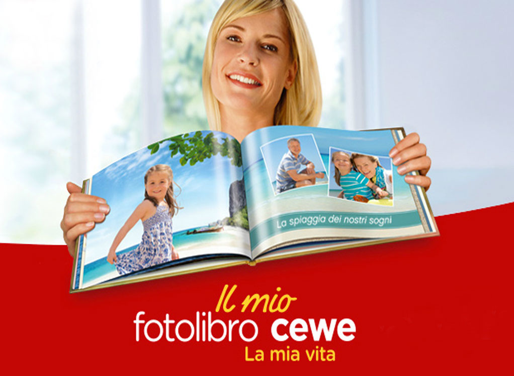 Fotolibro personalizzato CEWE - Personalized photo books CEWE.