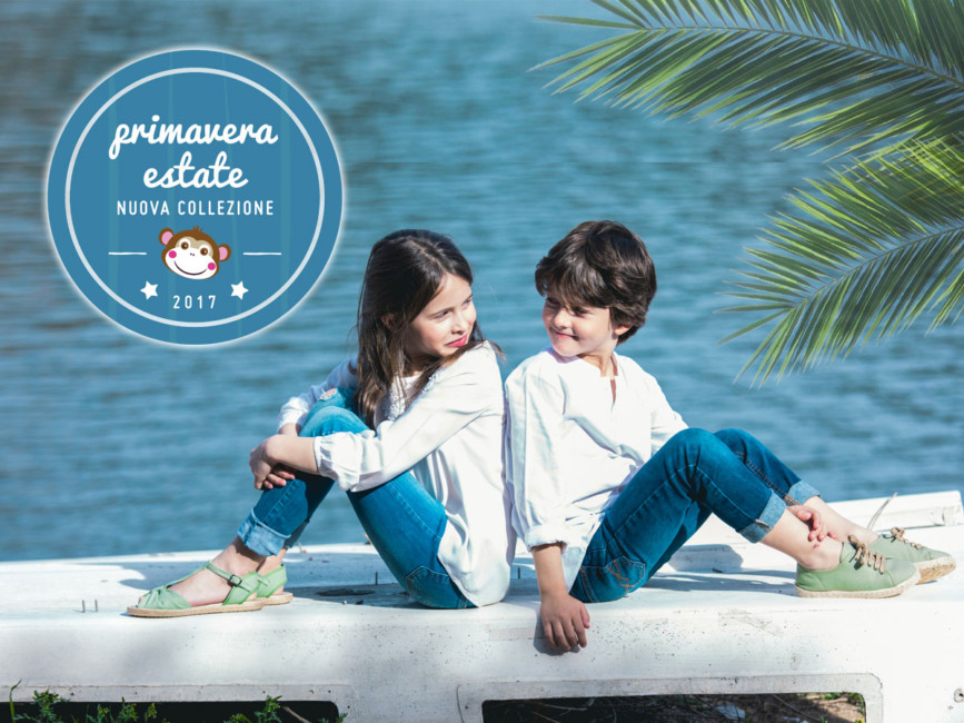 Pisamonas scarpe primavera estate moda bambini - Spring summer fashion kids shoes Pisamonas.