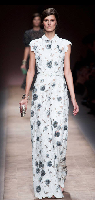 Valentino dandelion dress.