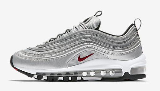 Nike Air Max 97 silver.