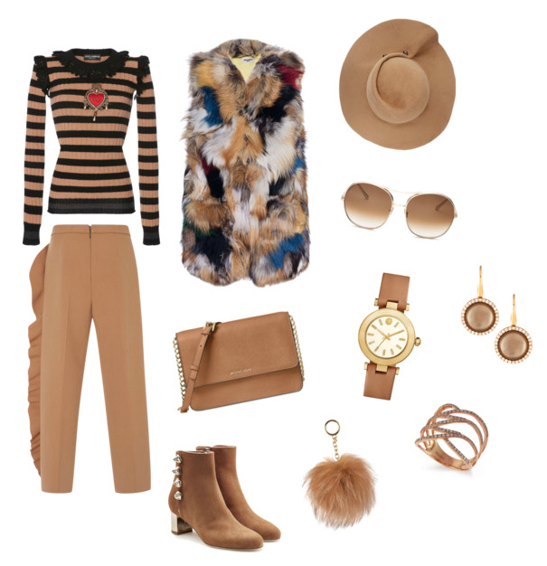 Butterum outfit.
