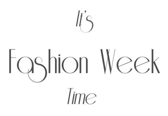 Come sopravvivere alla settimana della moda - How to survive the fashion week.