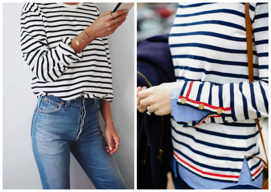 Righe orizzontali outfit - Horizontal stripes outfit.