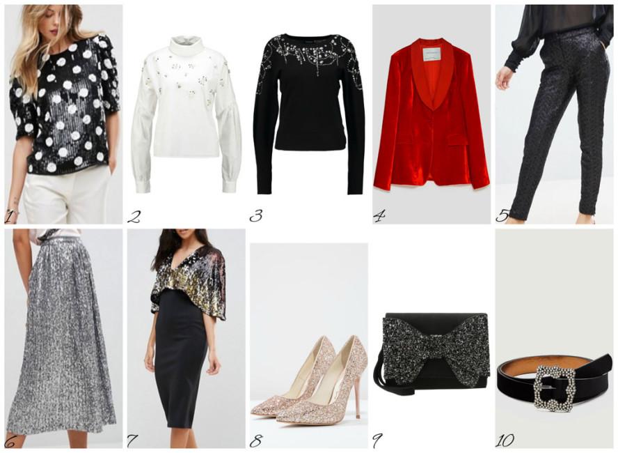 Top moda Capodanno dicembre 2017 - Top fashion New Year's December 2017.