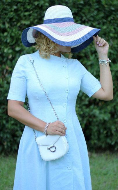 Instagram recap 3 spring summer outfit blue dress.