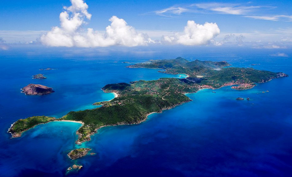 Caraibi, Isola di Saint Barth.