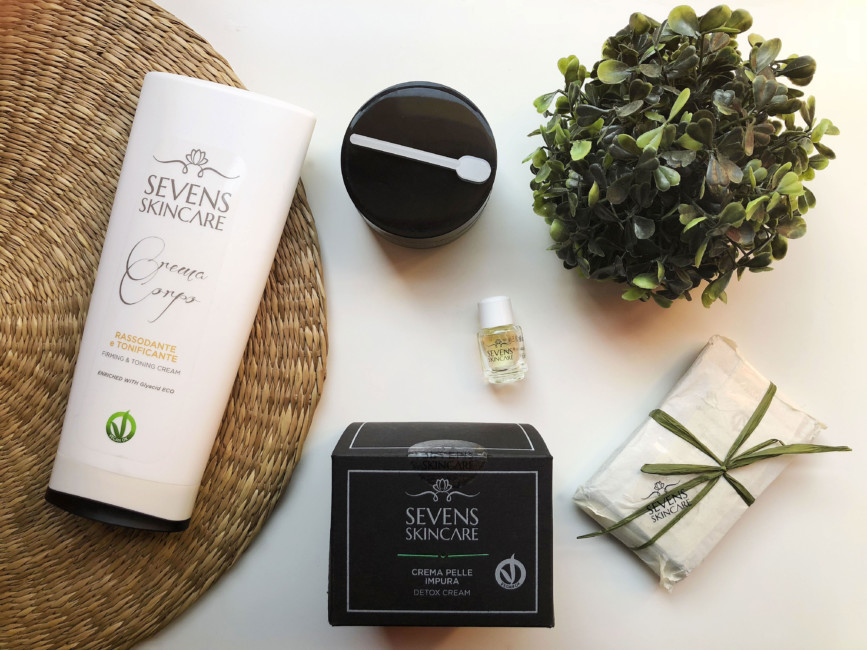 Natural beauty products Sevens Skincare.