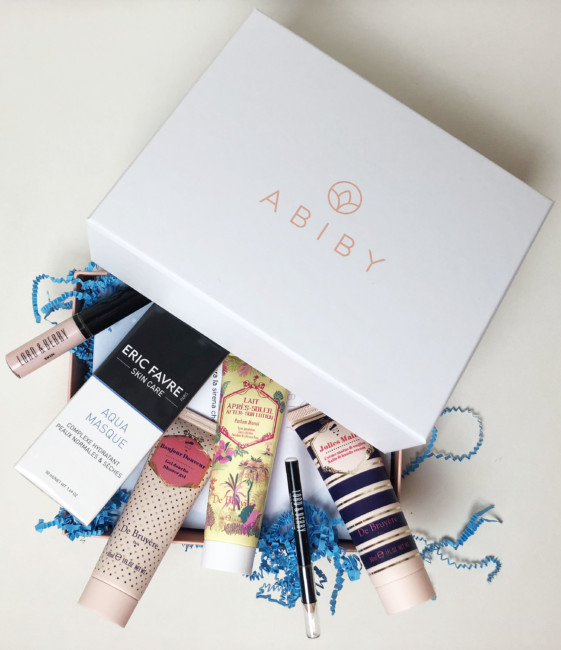 Beauty box mermaid vibes by Abiby.