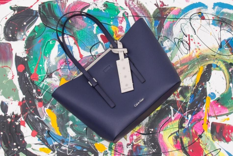 Blue bag online shop Goccia.clothing.