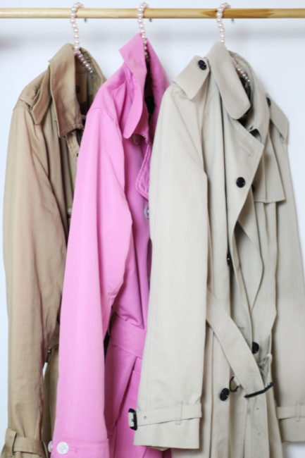 Come indossare un trench - How to wear a trench coat.