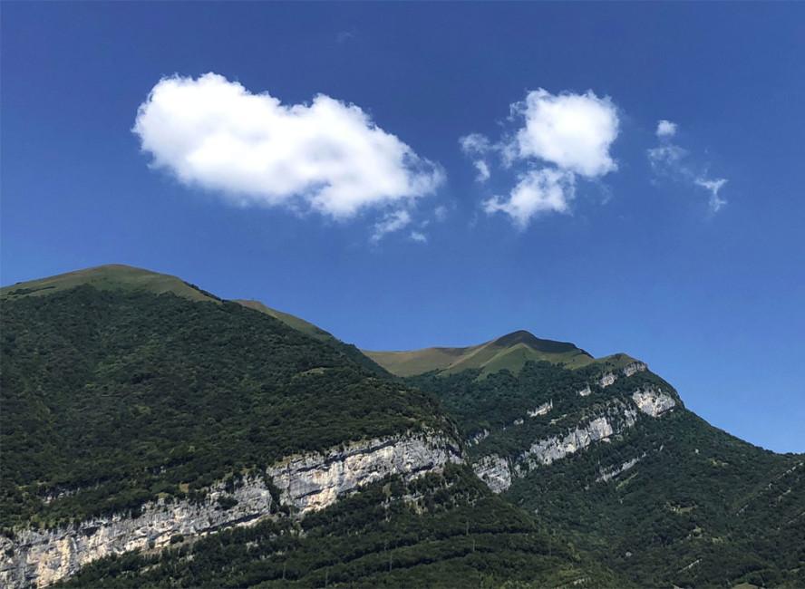 Scorcio paesaggio Lago di Como - Glimpse of Lake Como landscape.