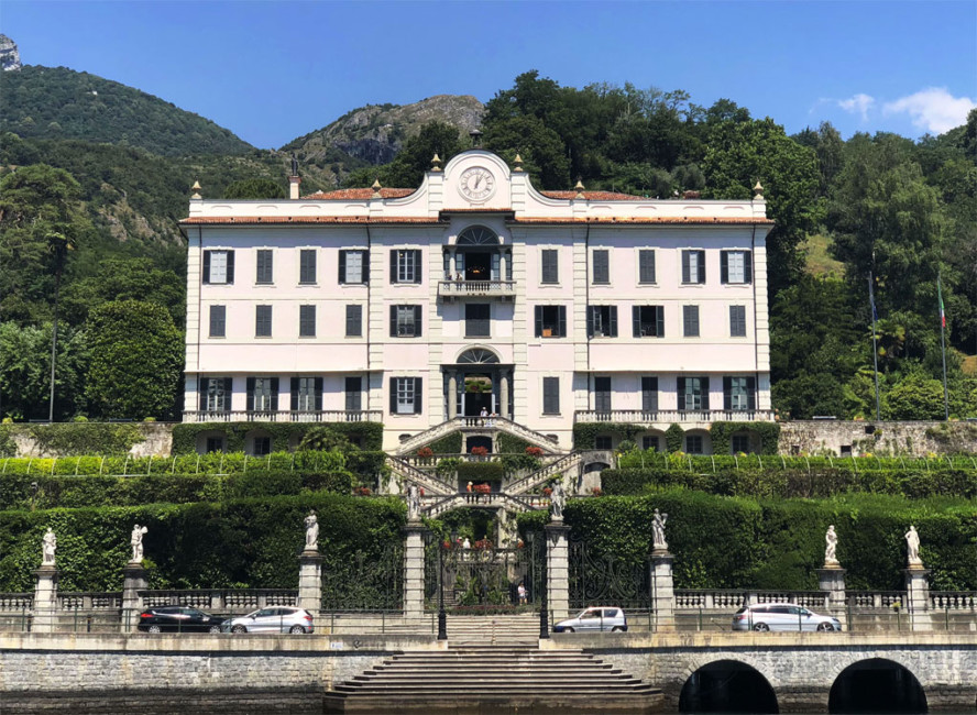 Villa Carlotta Lake Como.