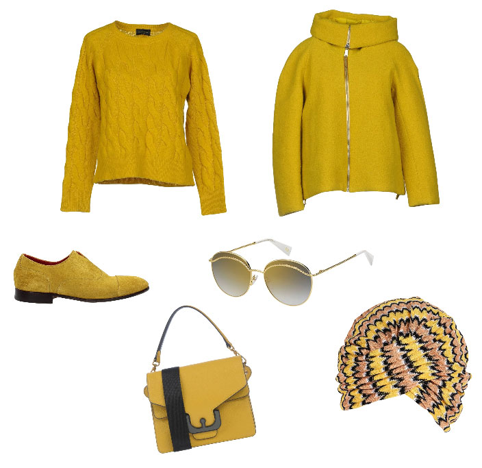 Idea outfit giallo - Yellow outfit inspiration.