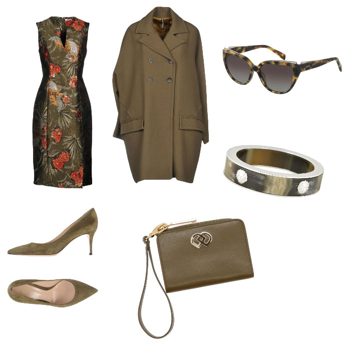 Idea outfit verde oliva - Green outfit idea.