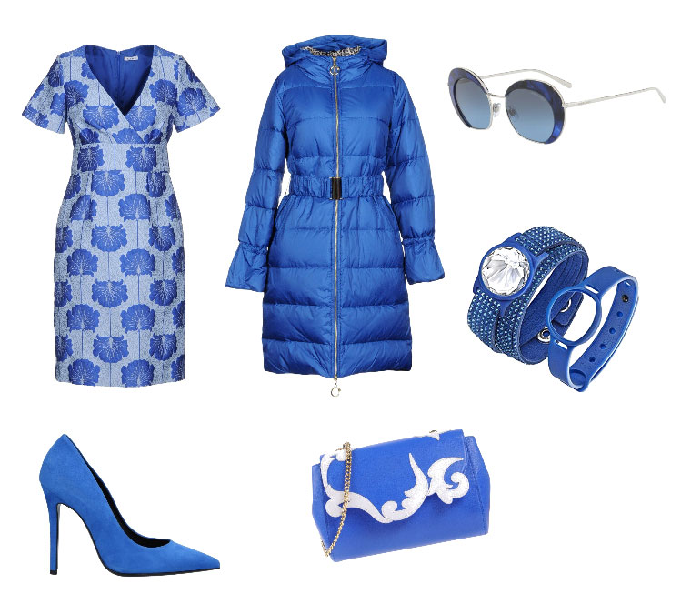 Ispirazione outfit blu - Blue outfit inspiration.